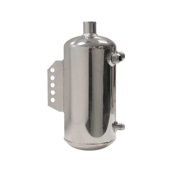 Réservoir tampon aluminium poli avec fixation arrière
