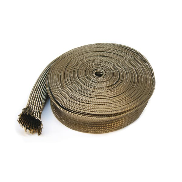 Gaine de protection thermique titanium