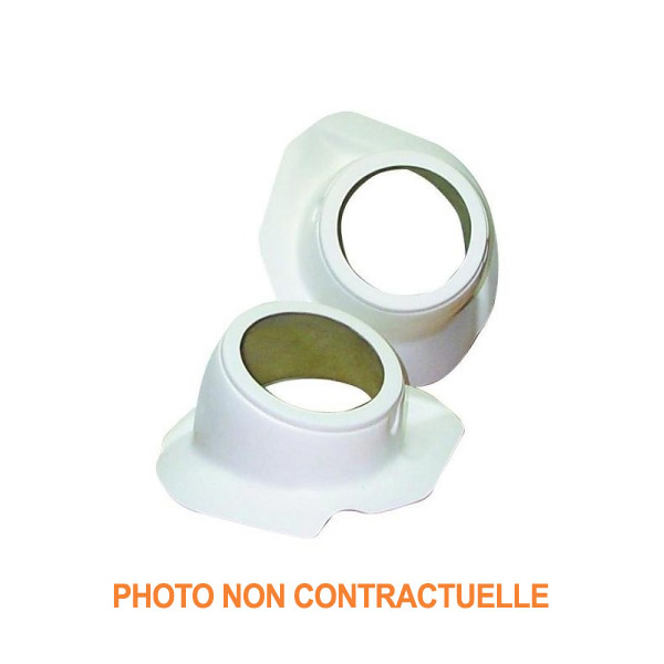Supports anti-brouillard polyester pour Peugeot 206 16S / RC